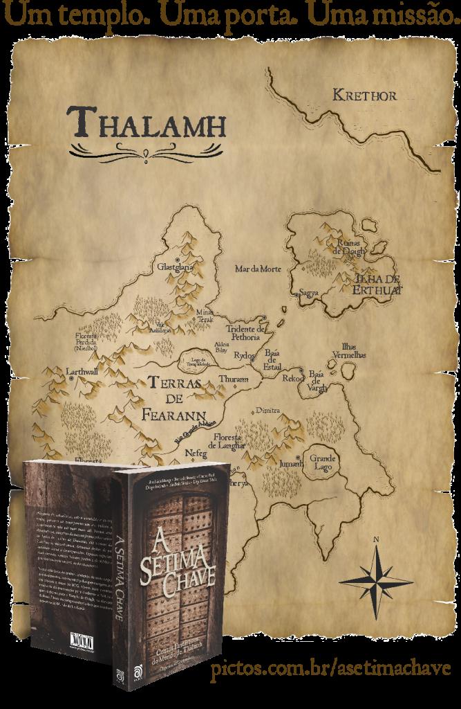 Pré-Lançamento A Sétima Chave - coletânea de contos
